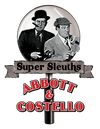 Abbott and Costello Super Sleuths Men's Slim Fit T-Shirt