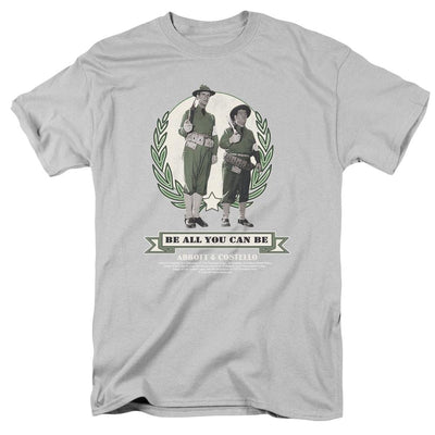 Abbott and Costello Be All You Can Be Men's Regular Fit T-Shirt