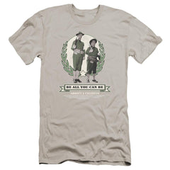 Abbott & Costello Be All You Can Be Premium Adult Slim Fit T-Shirt