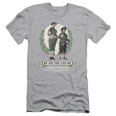 Abbott and Costello Be All You Can Be Men's Slim Fit T-Shirt