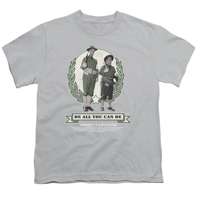 Abbott and Costello Be All You Can Be Youth T-Shirt (Ages 8-12)