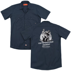 Abbott & Costello - Off Your Rocker Adult Work Shirt