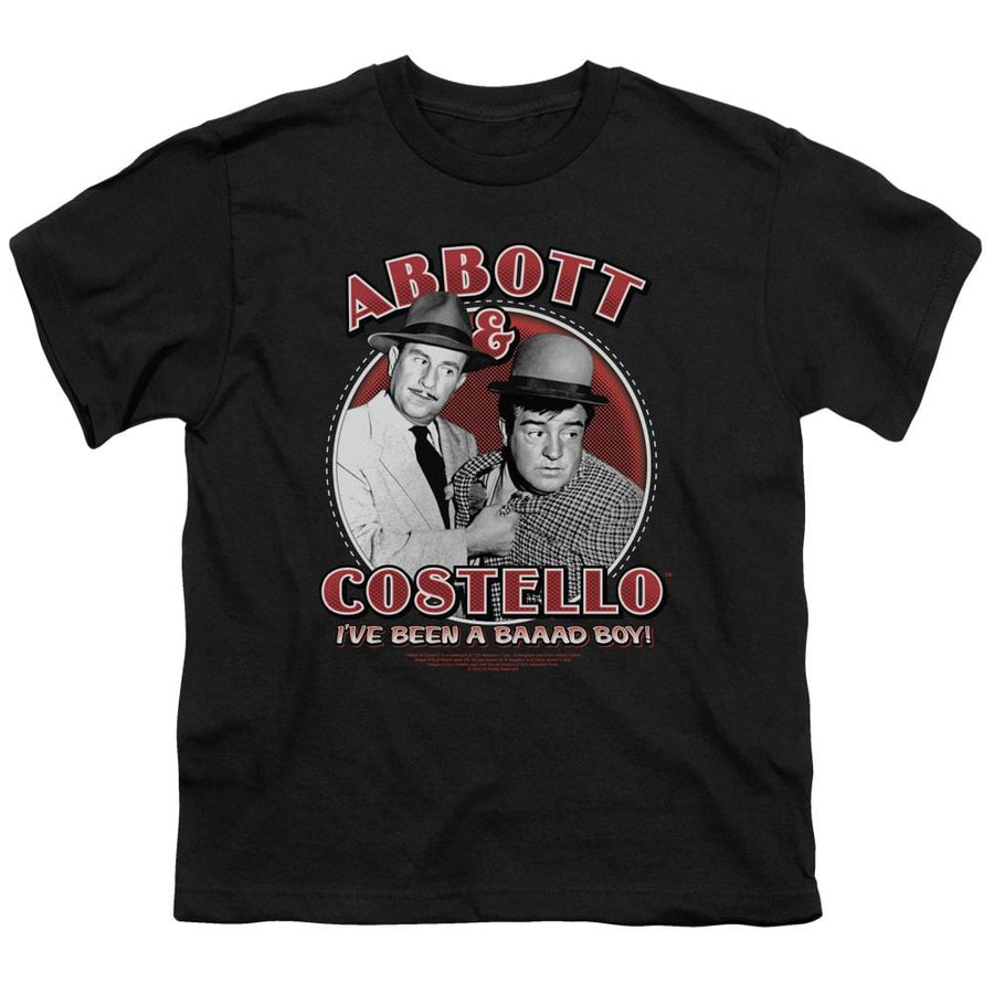 Abbott and Costello Bad Boy Youth T-Shirt (Ages 8-12)