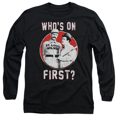 Abbott and Costello First Men's Long Sleeve T-Shirt
