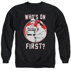 Abbott & Costello First Adult Crewneck Sweatshirt