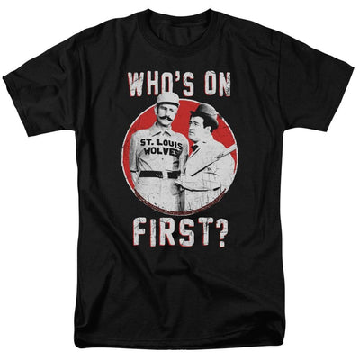 Abbott and Costello First Men's Regular Fit T-Shirt