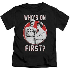 Abbott & Costello First Kids T-Shirt (Ages 4-7)
