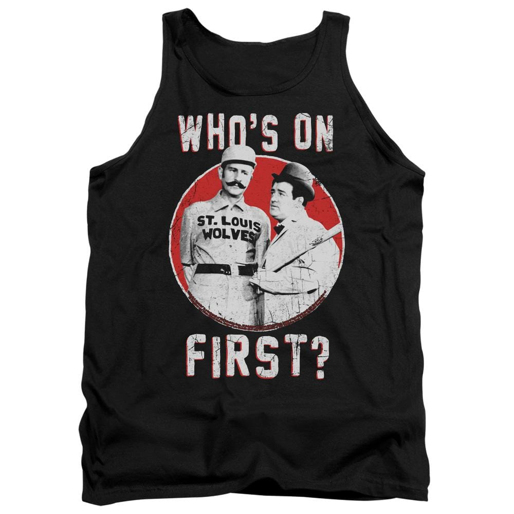 Abbott & Costello First Adult Tank Top