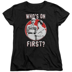 Abbott & Costello First Women's T-Shirt