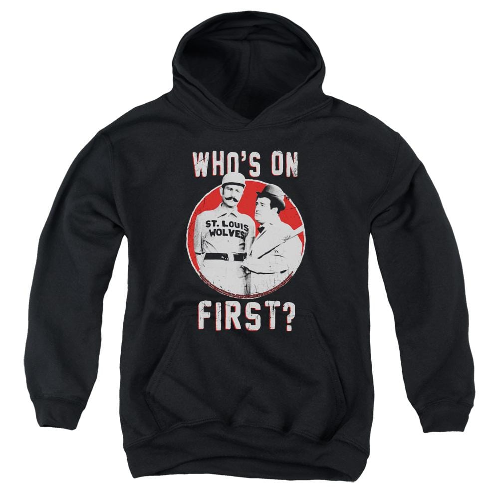 Abbott & Costello First Youth Hoodie (Ages 8-12)