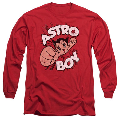 Astro Boy Flying Men's Long Sleeve T-Shirt