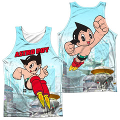 Astro Boy City Boy Adult Tank Top