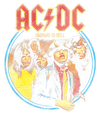 AC/DC Highway To Hell Juniors V-Neck T-Shirt