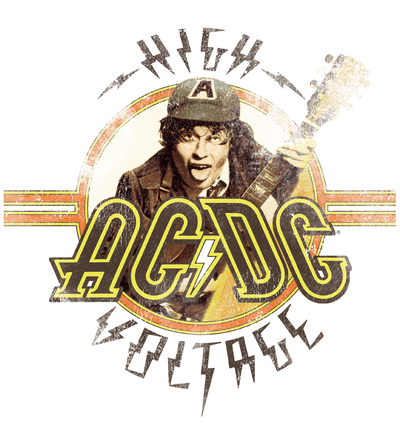 AC/DC High Voltage Men's Regular Fit T-Shirt