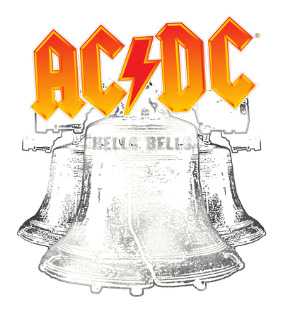 AC/DC Hells Bells Juniors V-Neck T-Shirt