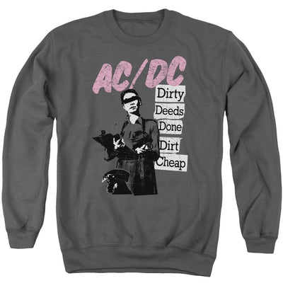 AC/DC Dirty Deeds Men's Crewneck Sweatshirt