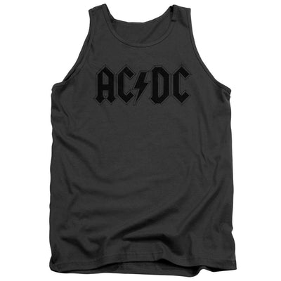 AC/DC Worn Logo Men's Tank