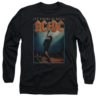 AC/DC Let There Be Rock Men's Long Sleeve T-Shirt