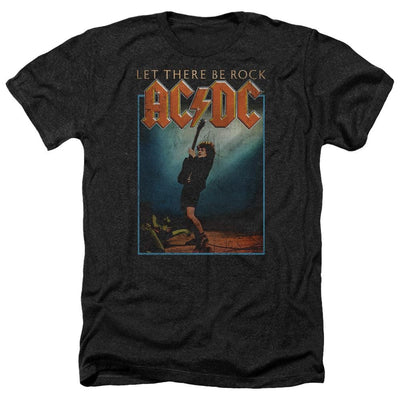 AC/DC Let There Be Rock Men's Heather T-Shirt
