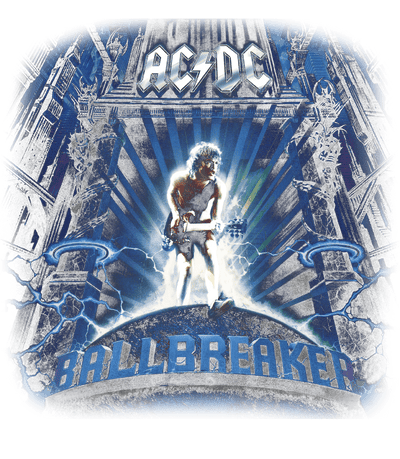 AC/DC Ballbreaker Men's Premium Slim Fit T-Shirt