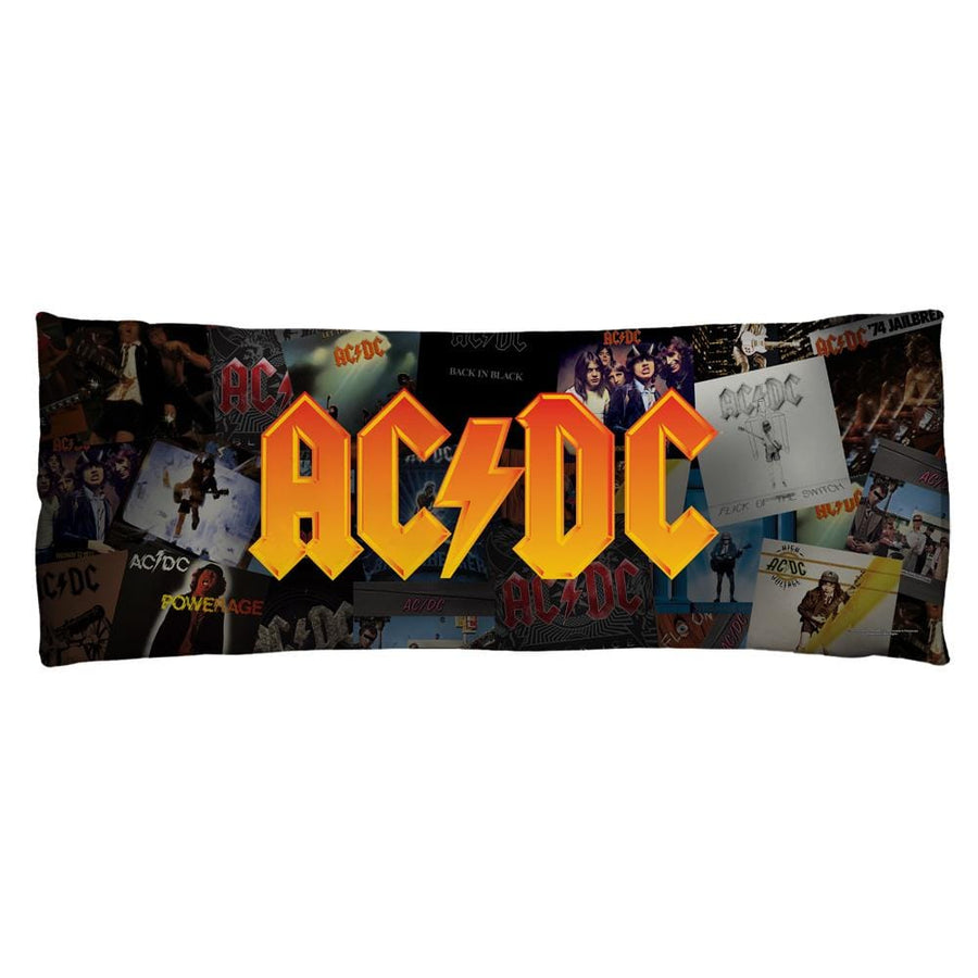Acdc - Albums Body Pillow