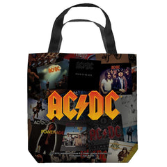 Acdc - Albums Tote Bag
