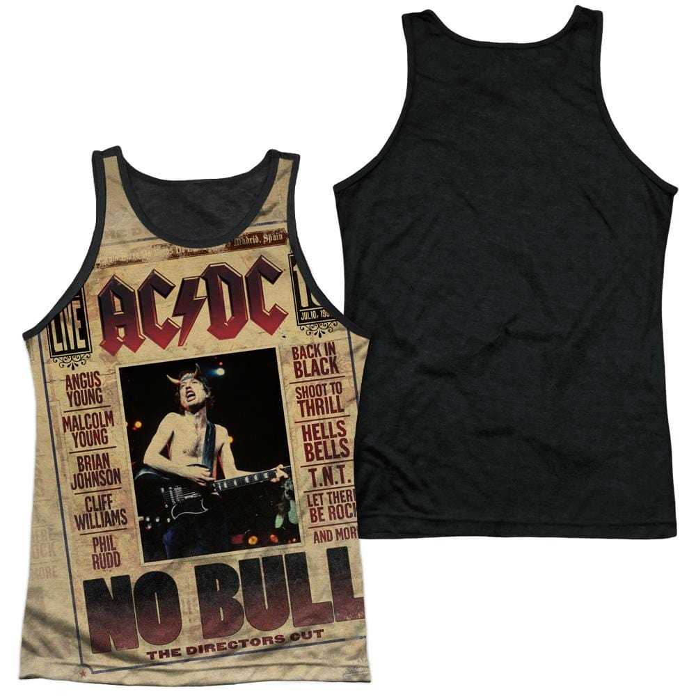 Acdc - No Bull Adult Tank Top
