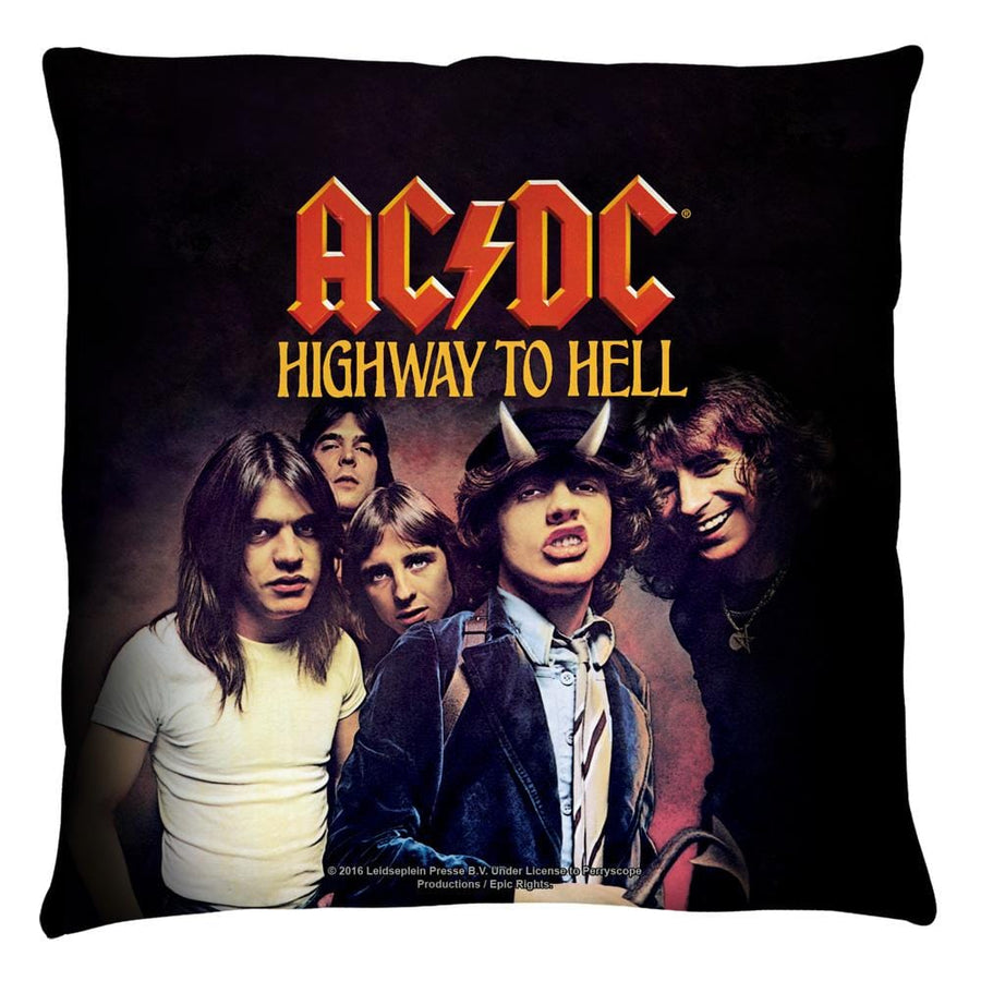 Acdc - Highway Throw Pillow