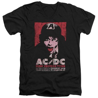 AC/DC High Voltage Live 1975 Men's V-Neck T-Shirt