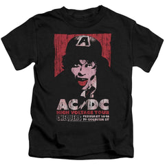 Acdc High Voltage Live 1975 Kids T-Shirt (Ages 4-7)
