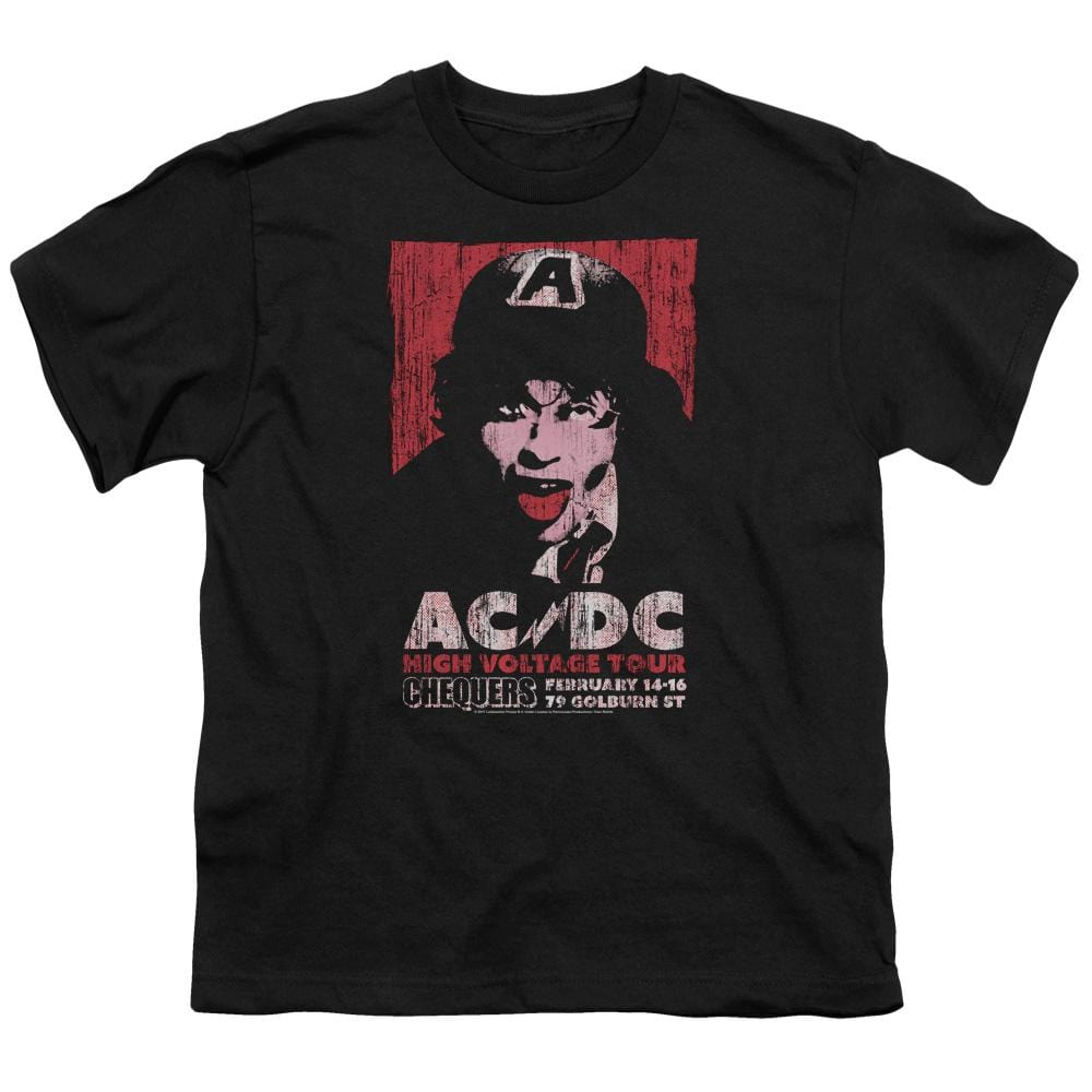 Acdc High Voltage Live 1975 Youth T-Shirt (Ages 8-12)