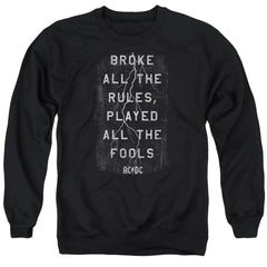 Acdc Struck Adult Crewneck Sweatshirt