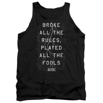 AC/DC Struck Men's Tank