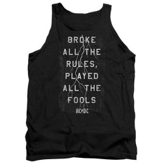Acdc Struck Adult Tank Top
