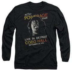 Acdc Powerage Tour Adult Long Sleeve T-Shirt