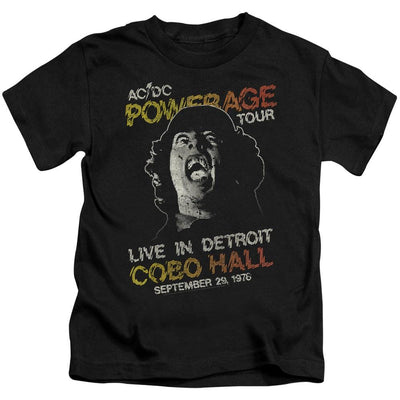 AC/DC Powerage Tour Kid's T-Shirt (Ages 4-7)