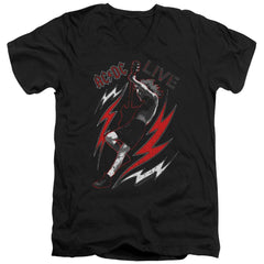 Acdc Live Adult V-Neck T-Shirt