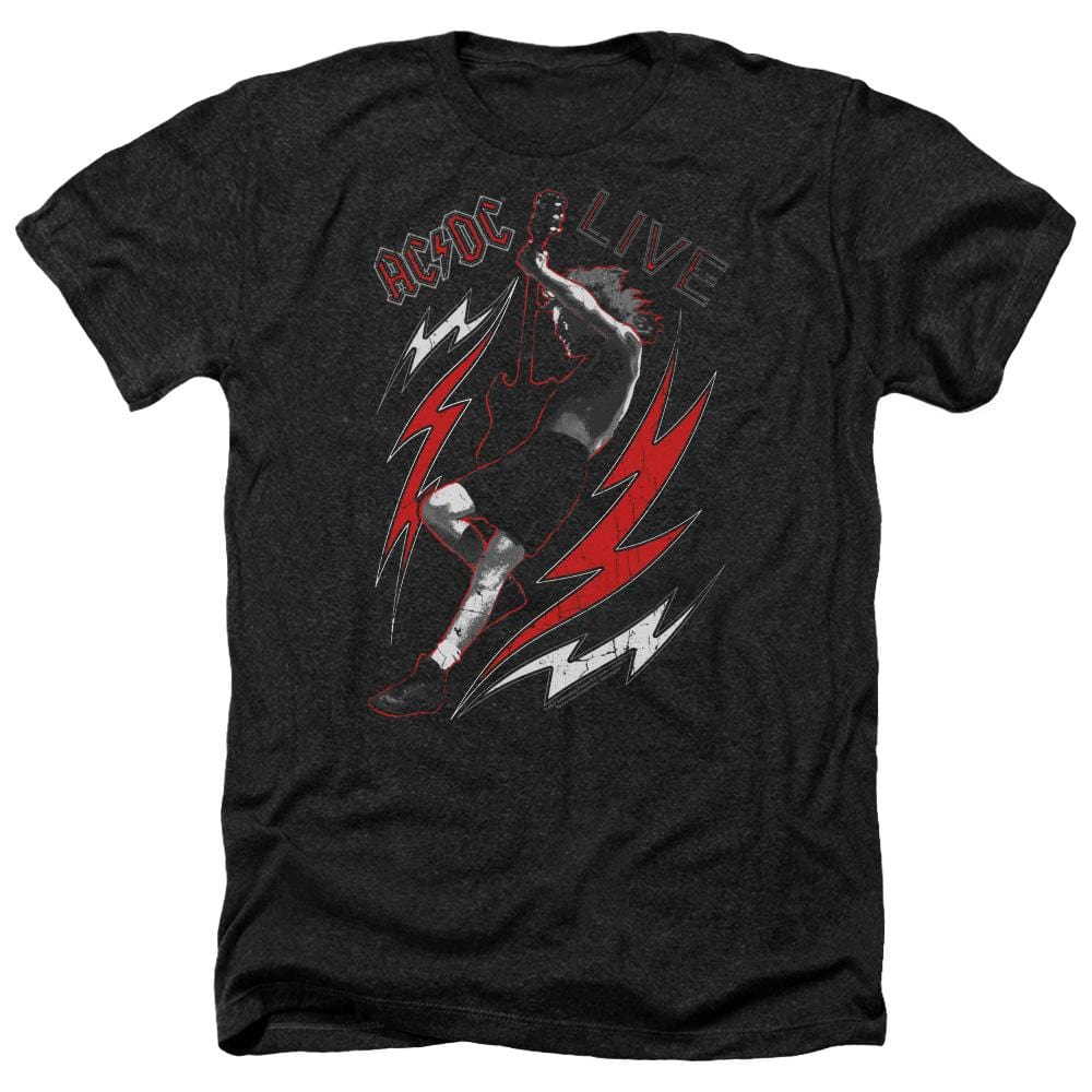 Acdc Live Adult Regular Fit Heather T-Shirt