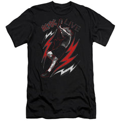 Acdc Live Premium Adult Slim Fit T-Shirt