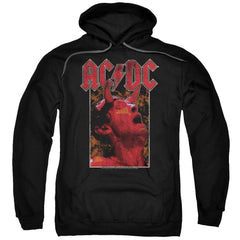 Acdc Horns Adult Pull-Over Hoodie