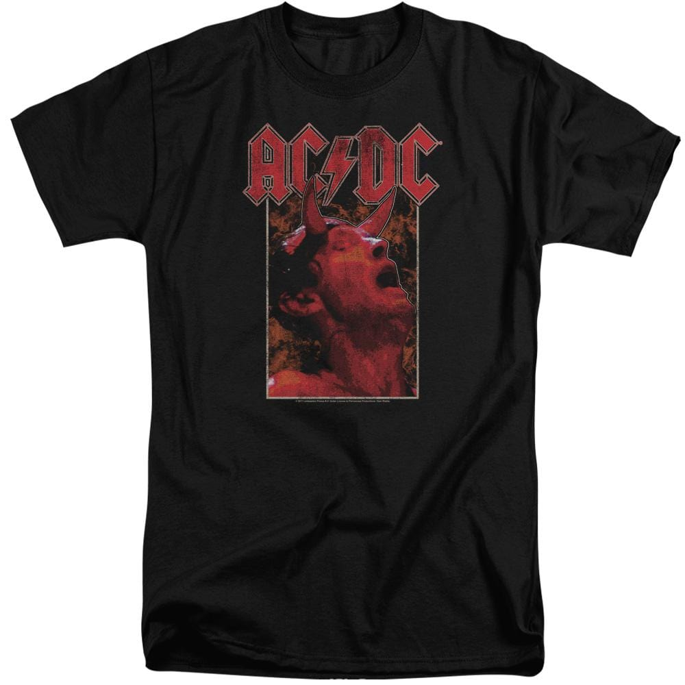 Acdc Horns Adult Tall Fit T-Shirt
