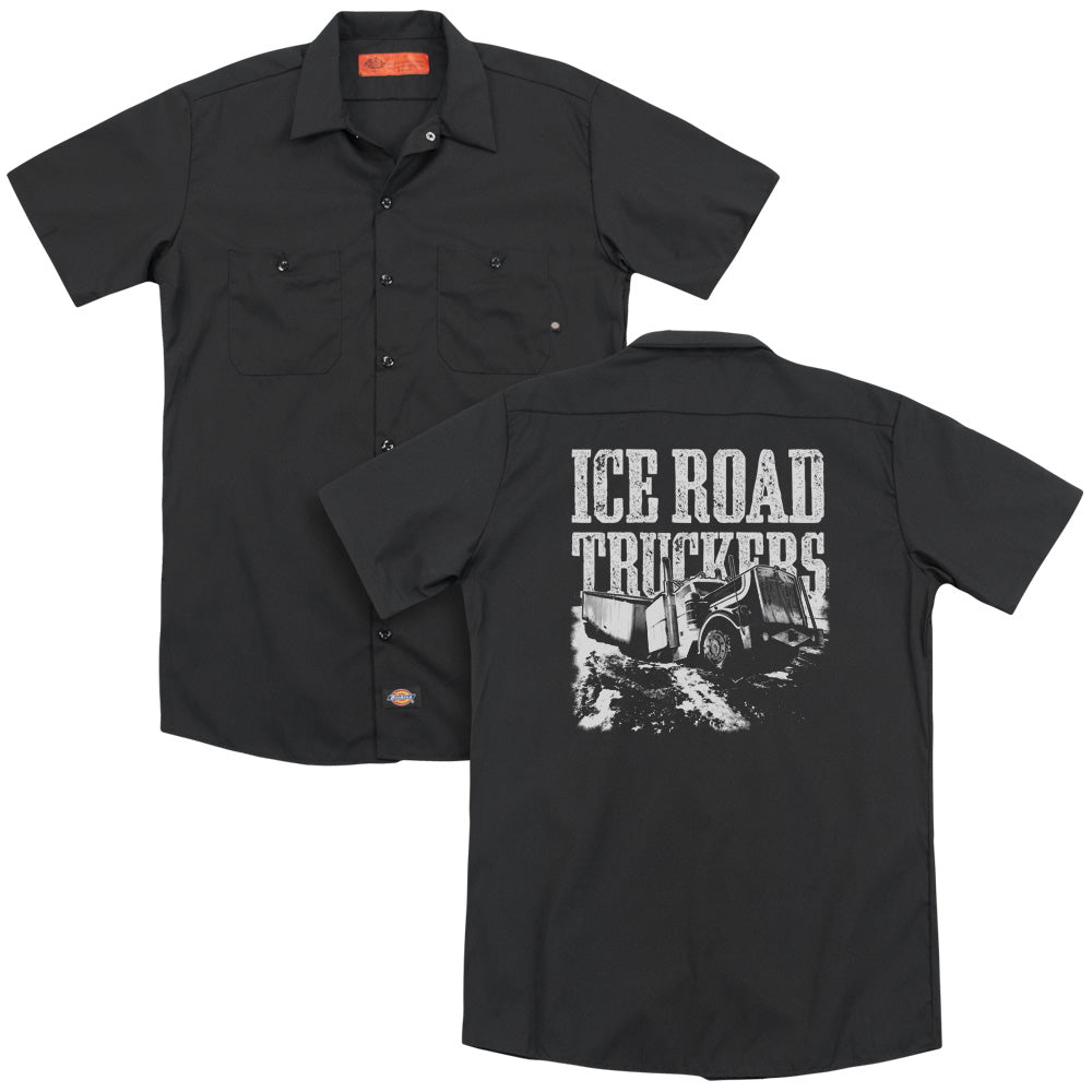 Ice Road Truckers Break The Ice Adult Work Shirt
