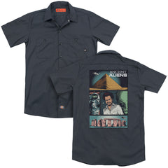 Ancient Aliens Aliens Comic Page Adult Work Shirt