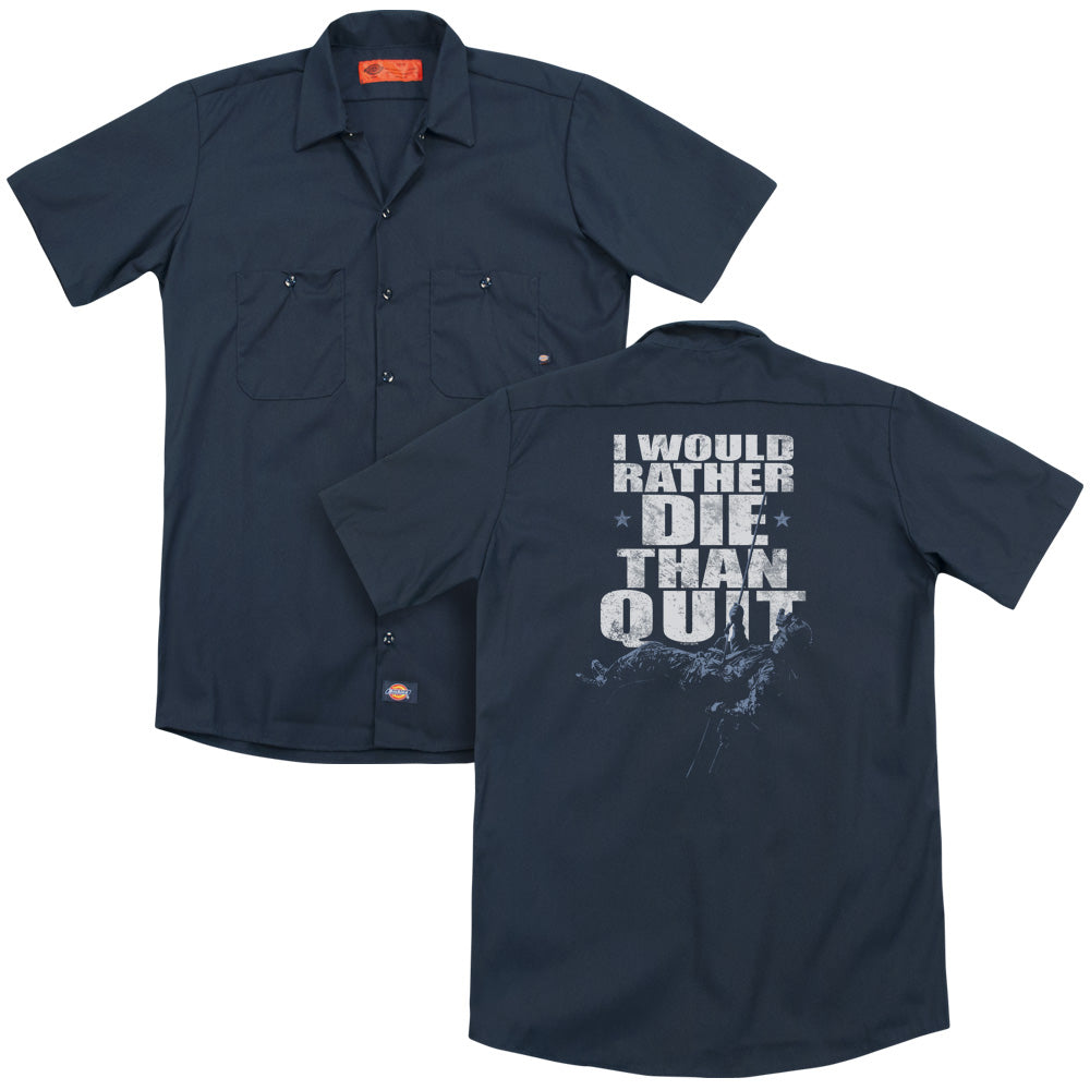 Six No Quitting Adult Work Shirt