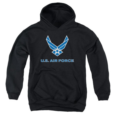 Air Force Logo Youth Hoodie (Ages 8-12)