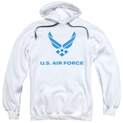 Air Force Distressed Logo Pullover Hoodie