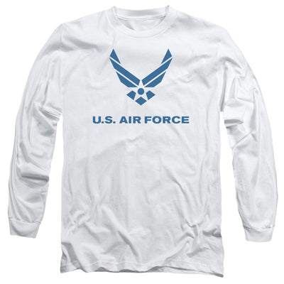 Air Force Distressed Logo Men's Long Sleeve T-Shirt