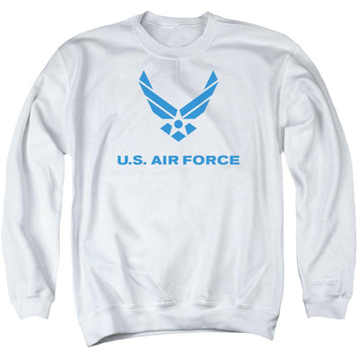 Air Force Distressed Logo Men's Crewneck Sweatshirt