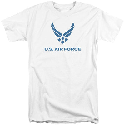 Air Force Distressed Logo Men's Tall Fit T-Shirt