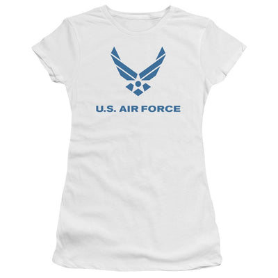 Air Force Distressed Logo Juniors T-Shirt